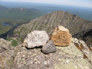 TSP at BSP trails and Katahdin 2015