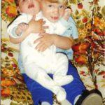 ben with alex 1990
