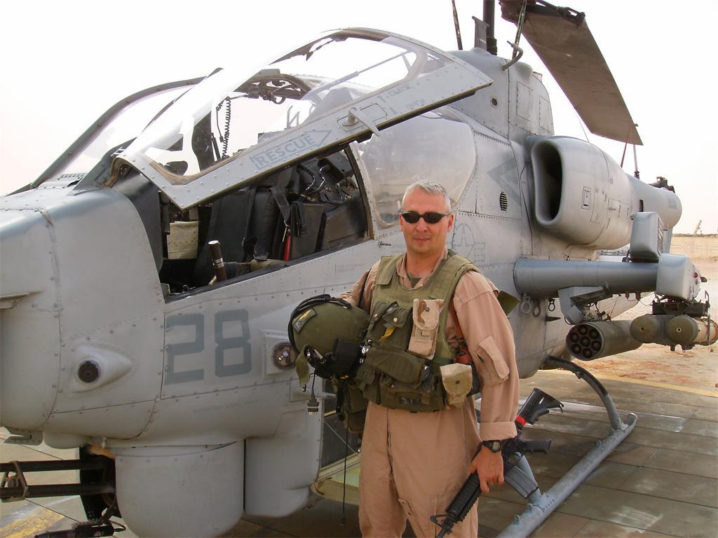 Marine Maj Samuel C. Leigh