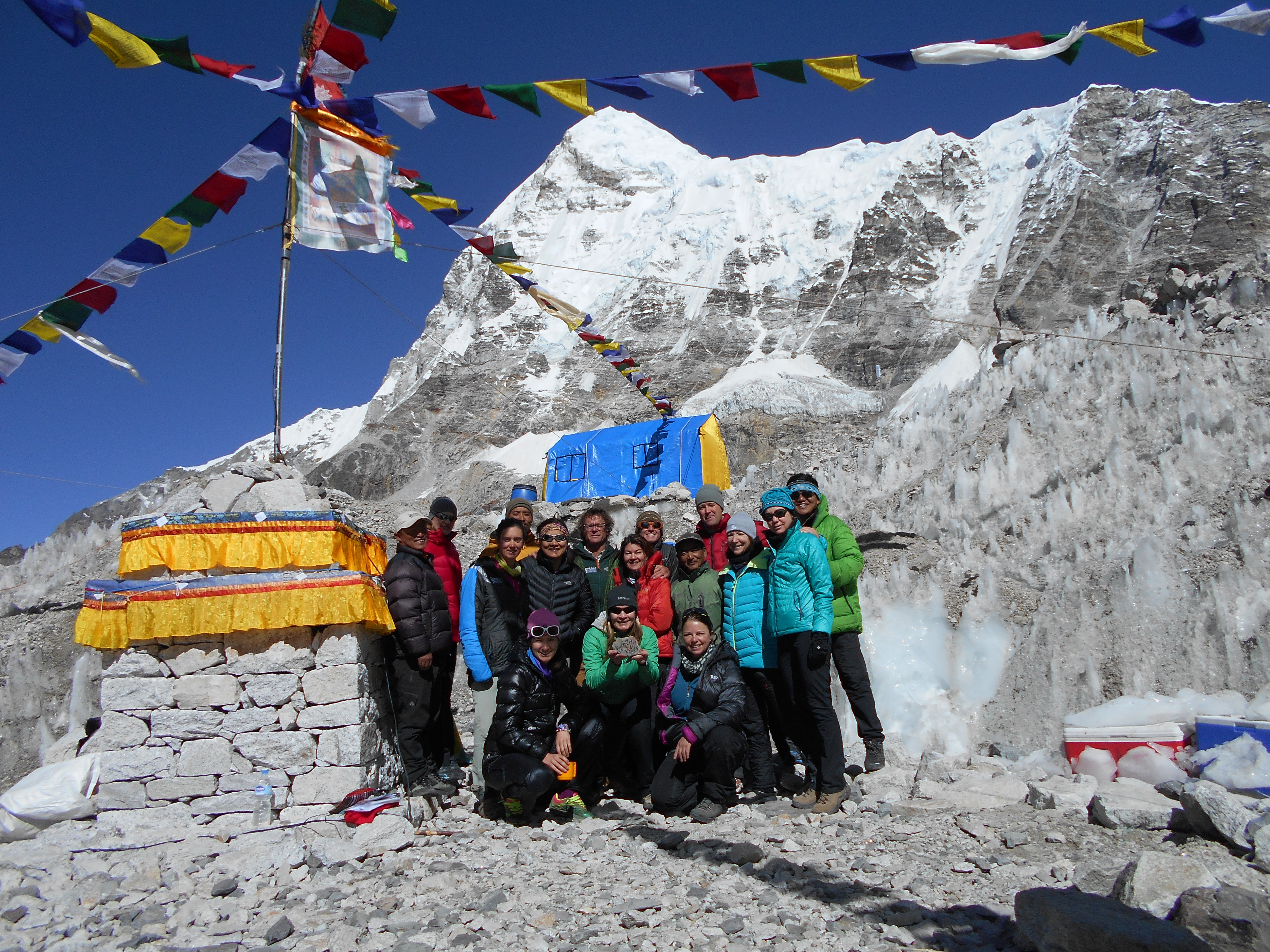 TSP at Mt. Everest 2014