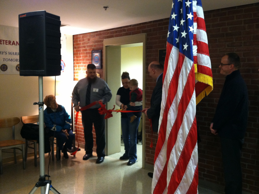 Eastern Maine Community College dedicates new student veteran lounge