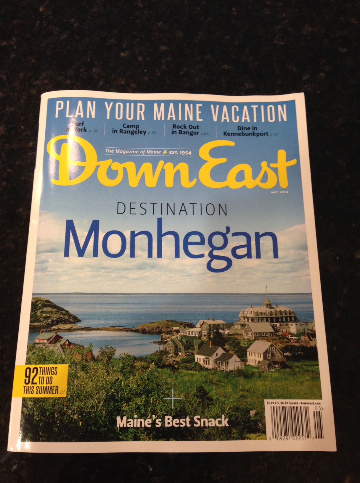 Down East Magazine — May 2014 print issue and video story