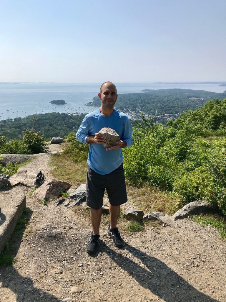 TSP at Mount Battie 2018